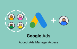 Grants a new Google Ads Manager access.